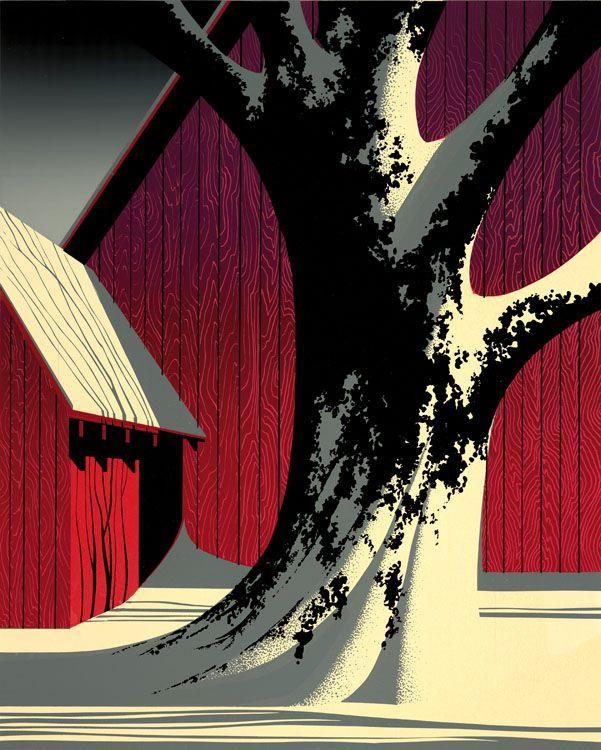 Illustration by Eyvind Earle