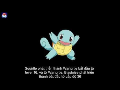 Squirtle- Pokémon Rùa Con - Pokemon Go Gameplay #07