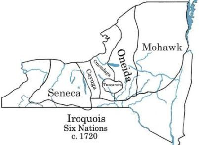 Iroquois Six Nations ~ Native American History for Kids