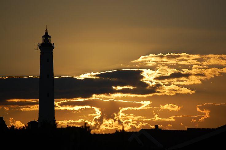 SEPTEMBERkalenderblatt  September: Oder das Foto von Rolf des Nr. Lyngvig Leuchtturms? #Dänemark #Lyngvig #Fyr #Leuchtturm