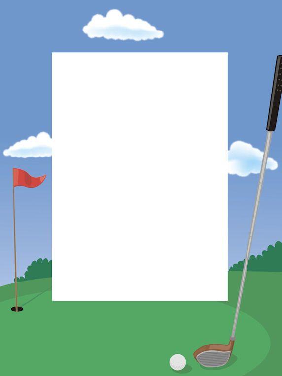 Free Golf Borders Clip Art  Golf clip art, Clip art, Clip art borders