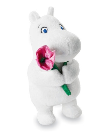 Take a look at this Moomintroll with Pink Flower by Moomin