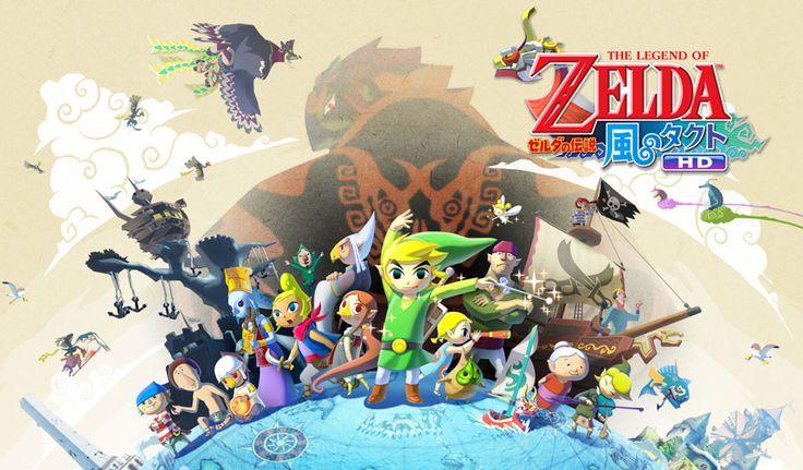 Nintendo Software Lineup | SOFTWARE | ゼルダの伝説 風のタクト HD