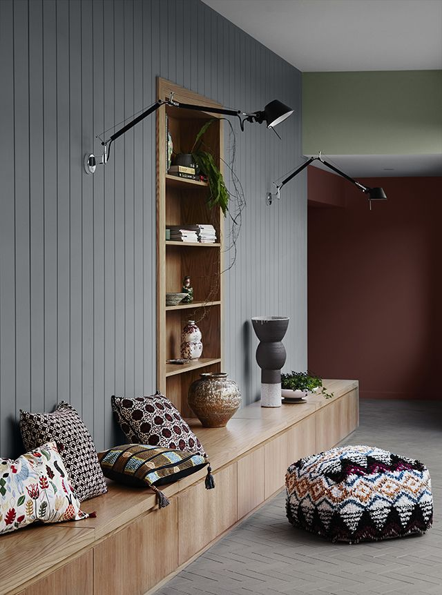 Earlier this week I shared my interpretation of Kinship , one of the four themes that make up the Dulux Colour Trends 2018 Balance . An ex...