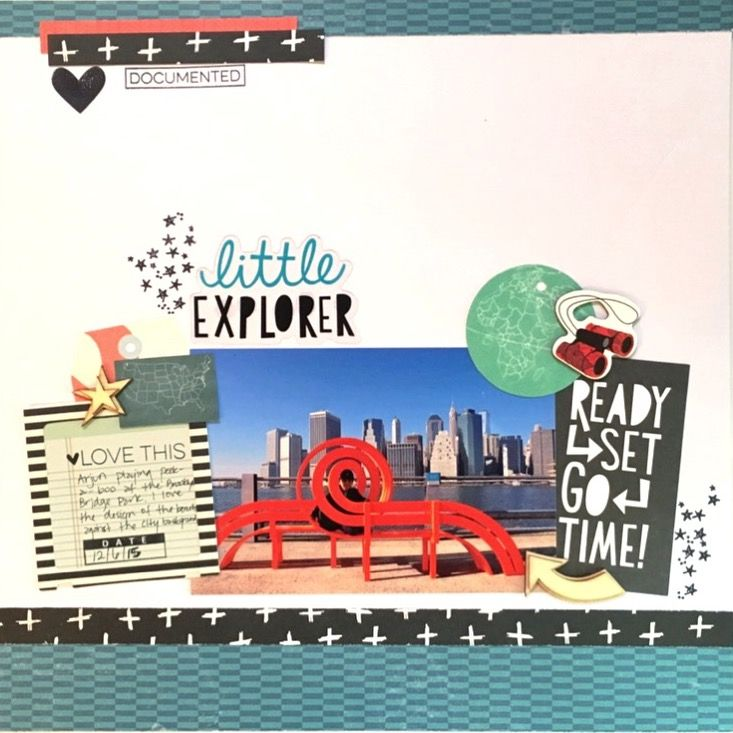 Little explorer - Crate Paper - Cool Kid Collection