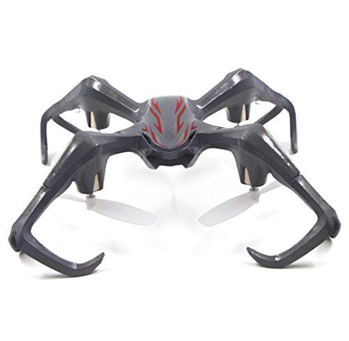 Welcomeuni Anyuse S6 Striders Quadcopter RC 6 Axis Gyro LED Light 4inch Remote Control Vehicle Gray *** Check out this great product.