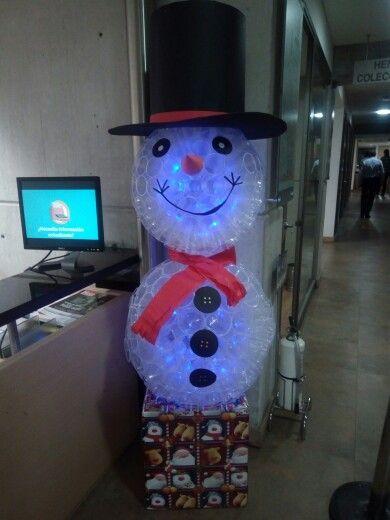 #snowman #cupplastic #navidad #christmas snowman hecho con vasos