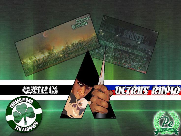 Gate 13 - Ultras Rapid by PanosEnglish.deviantart.com on @DeviantArt