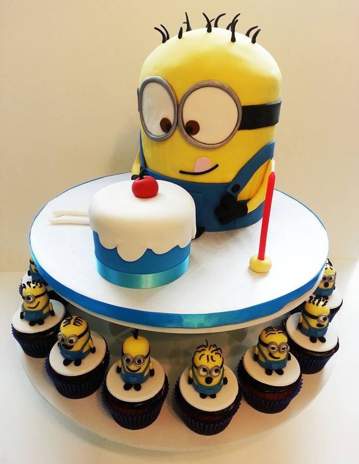 How To Make A D Minion Birthday Cake