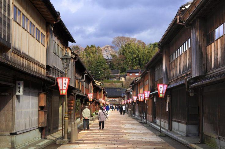 ひがし茶屋街 Higashi Chaya Town