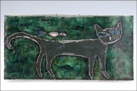 Kissa (Cat) by Rut Bryk