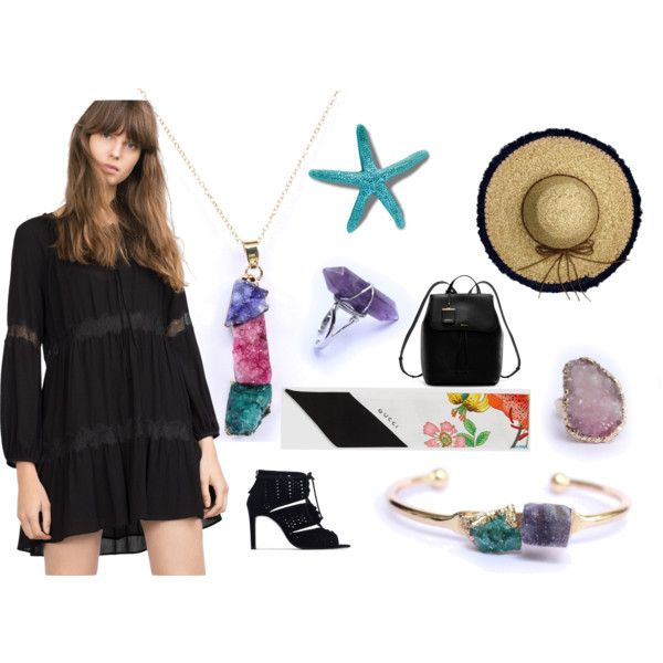 A fashion look from September 2015 by foxandcrab featuring Zara, DKNY, Gucci and La Fiorentina