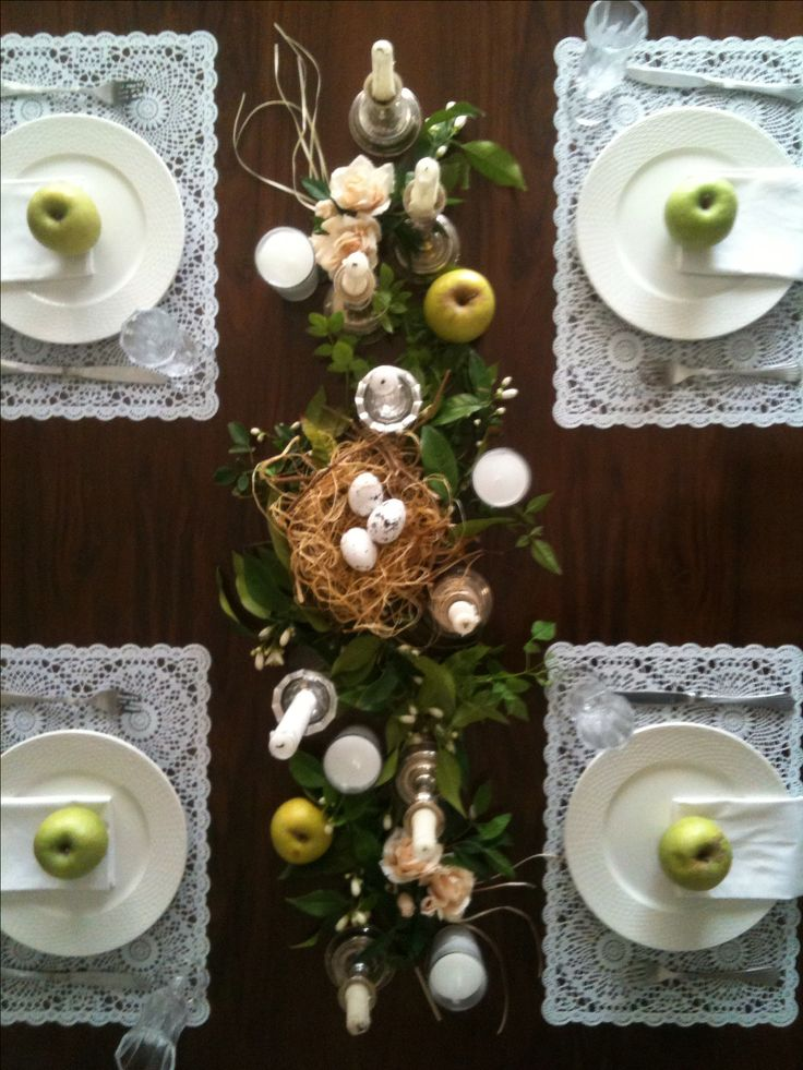 My ester-spring table setting