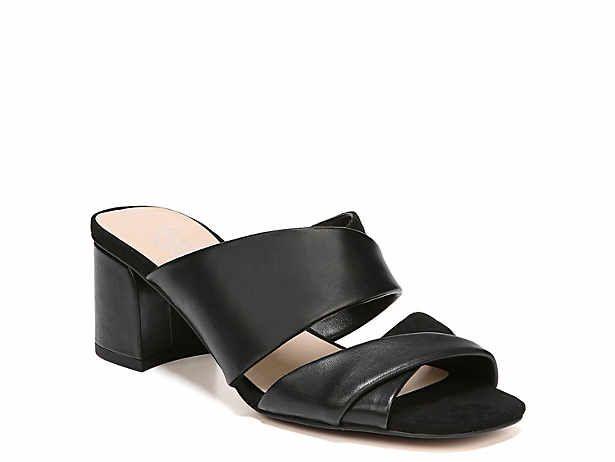 Women S Black Mid Heel 2 3 Dress Pumps Sandals Dsw Black Mid Heels Pump Sandals Shoes