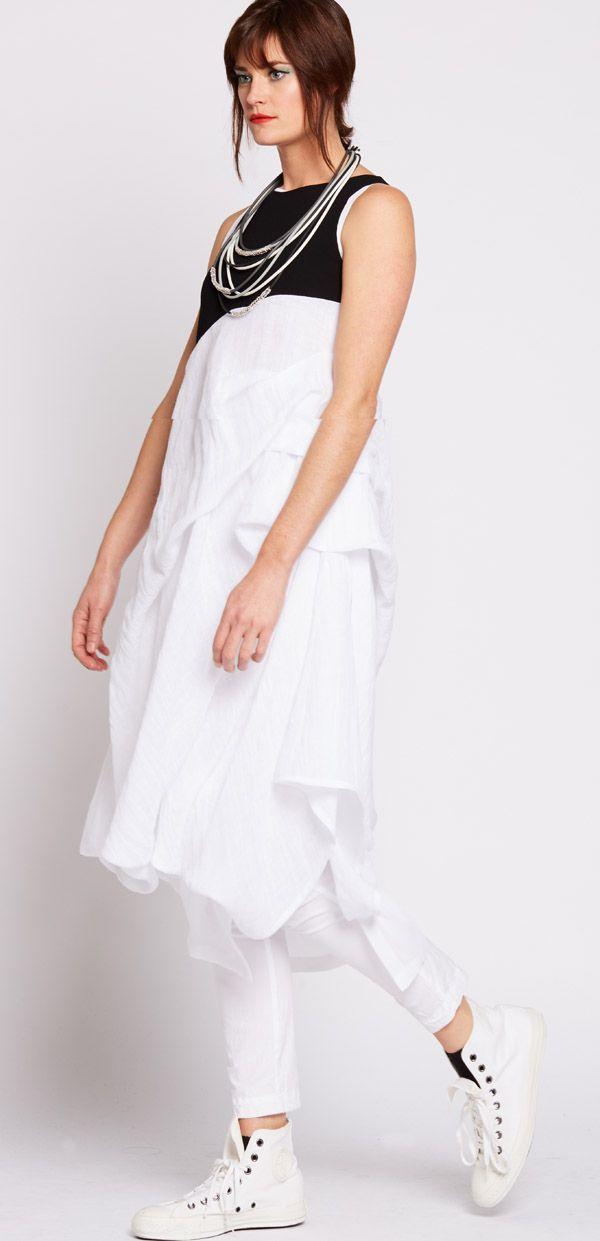 Nicola Waite  Resort SS2016  Bodice Tuck Dress $469.00 AUD 2081.3127