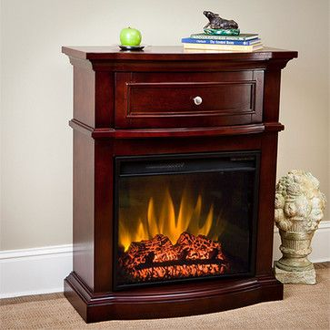 duraflame+small+electric+fireplaces   ChimneyFree - Morgan Petit Foyer Electric Fireplace Heater in Empire ...