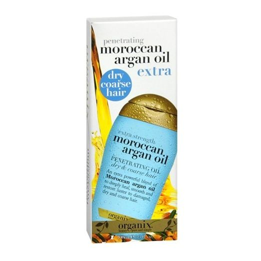 Organix Moroccan Argan Oil Penetrating Oil ($6): Organix Moroccan Argan Oil Penetrating Oil comes inexpensive but rich in quality. Great for softening, shining and adding verve to lackluster hair. Vitamin E and antioxidant fortified