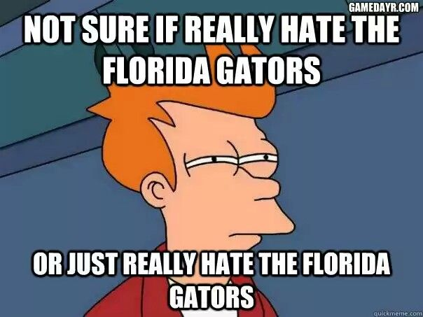 Florida gator dating bulldog sayings