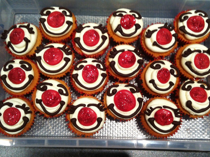 Cake Decorations For Red Nose Day : 25+ best ideas about Red nose day cupcakes on Pinterest ...