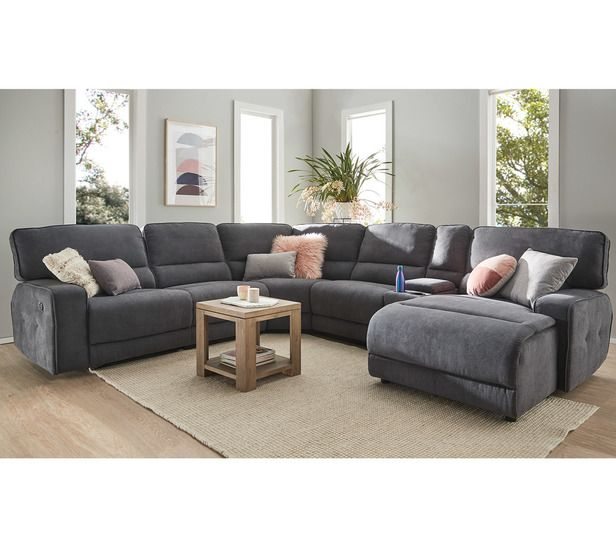 Watson 6 Seater Modular Chaise Furniture Chaise Fantastic Furniture