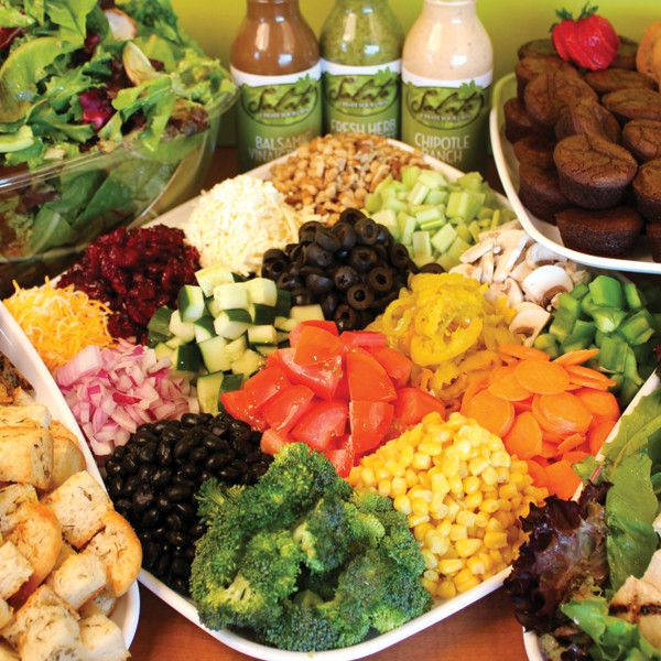 salad bar items - Google Search