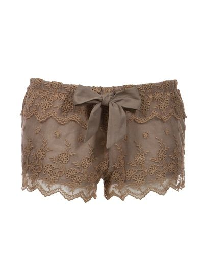 GOMIDE CHIC and BASIC Shorts Cáqui