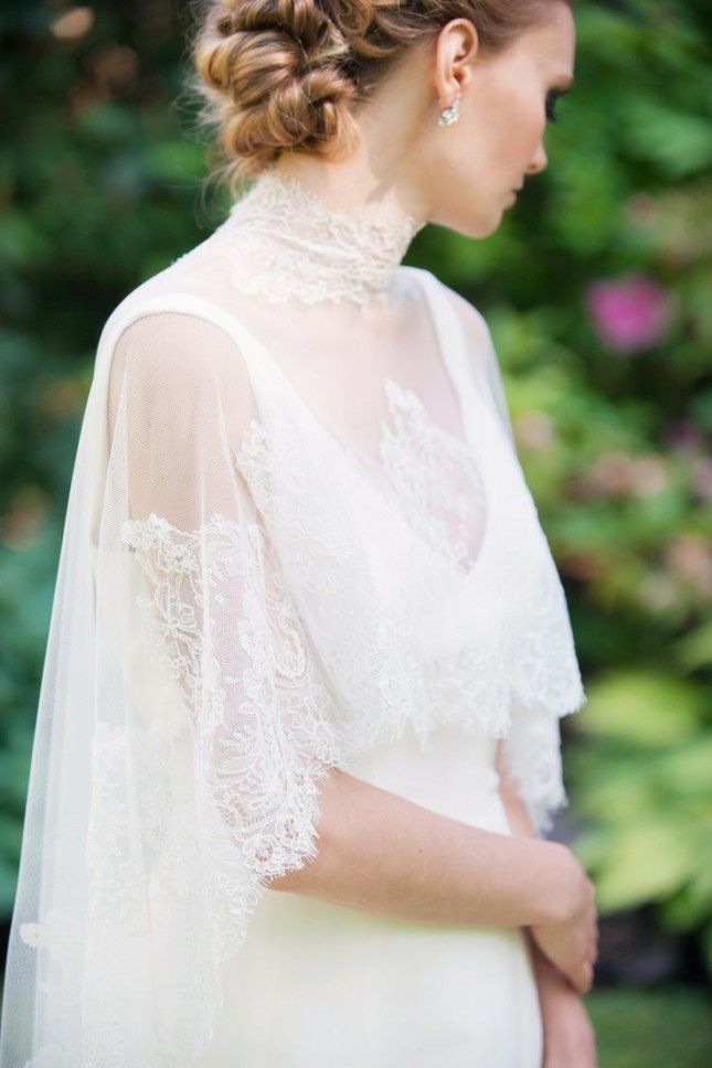 30 Wedding Cover Ups to Keep Warm on Your Big Day via Brit + Co.