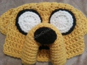Adventure Time's Jake the Dog Character Hat Crochet Pattern - free hat crochet pattern from cRAfterChick.com