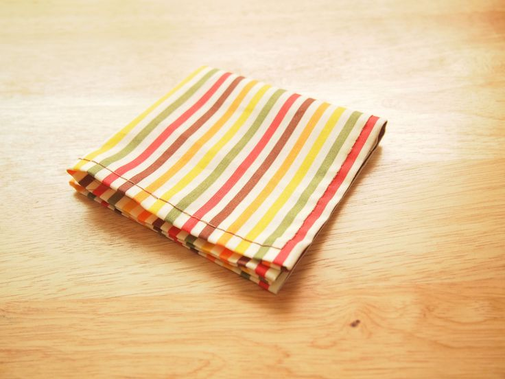 A handkerchief (kerchief or hanky), is a folded square piece of fabric that can be carried in your pocket or purse. Generally used for personal hygiene, it can also be used as a fashion accessory by placing it decoratively in the breast...