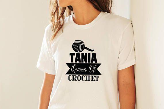 Yarn Queen Shirt #yarn #queen #shirt #queenof #Crocheters #Gift #CrochetingShirt #YarnCrafts #Shirts #YarnQueen #Gifts #CrochetShirt #CrochetingGift #ShirtsForCrafters #sunnydazestudio #etsy #etsyuk #etsyseller #etsyukseller #etsygift #handmade #etsyshop