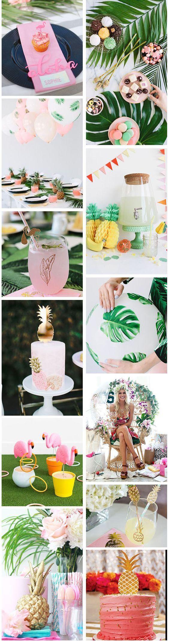 Ameliste Tropical Party Tropical Bridal Shower