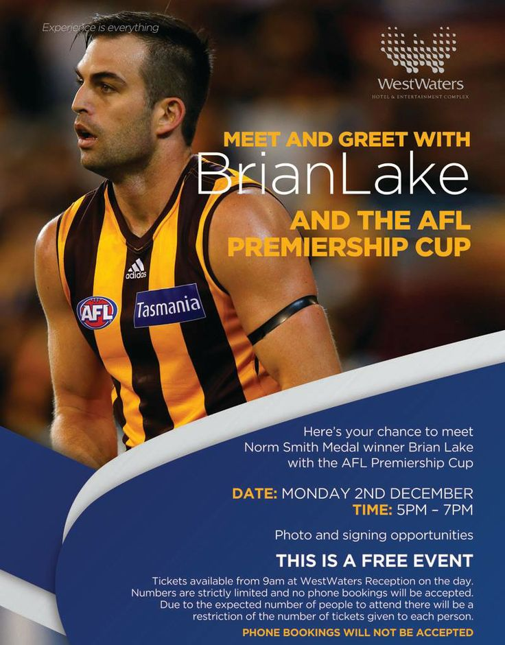 Brian Lake is coming to WestWaters!