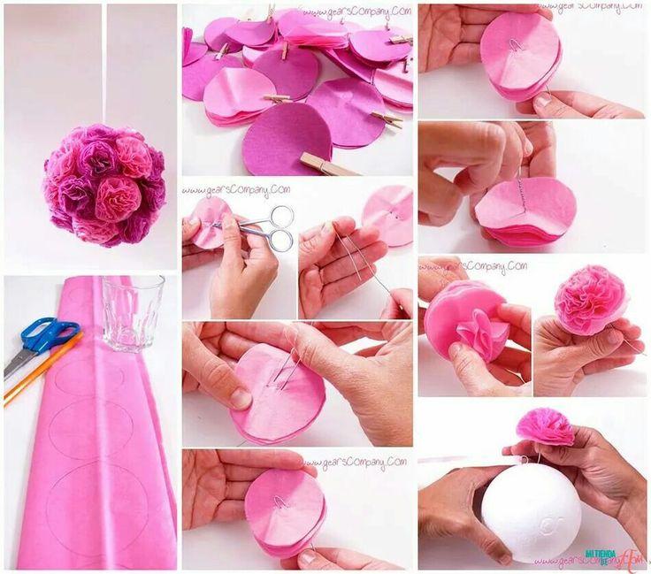 17 b sta id er om decoracion con papel crepe p pinterest for Decoracion con cenefas de papel