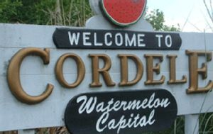 Cordele, GEORGIA also known as The Watermelon Capital of the World The heart of Georgia  watermelon industry.
