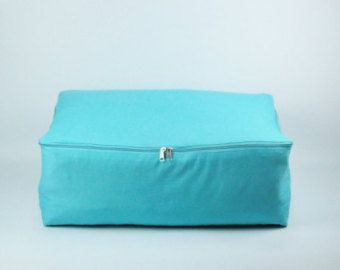 55L MistyRose Cotton Storage bag for clothes by DaintyStorage