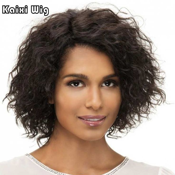 Krótkie Afro Kręcone Włosy Afro Perwersyjne Kręcone Peruki Dla Czarnych Kobiet styl Krótki Peruka Włosy Naturalne Tanie Peruki Dla Kobiet Afryki Fryzury
