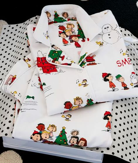 Peanuts flannel pajamas!