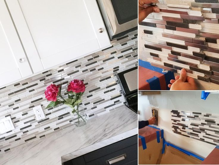 Kitchen Backsplash Self Adhesive Tile
