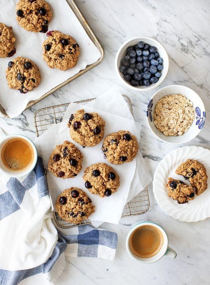 Blueberry Oatmeal Breakfast Cookies Recipe Breakfast Cookies Breakfast Cookie Recipe Oatmeal Breakfast Cookies