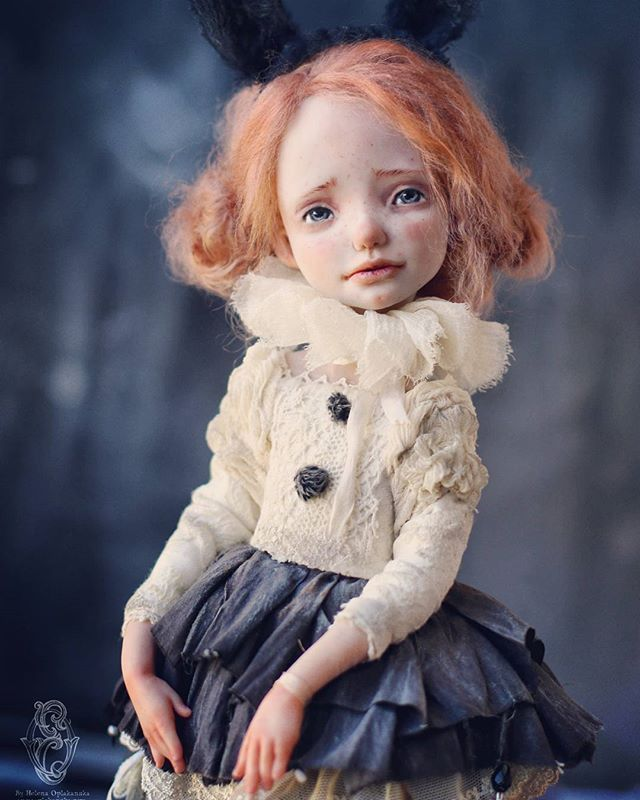 Зайки-малышки . Куклы в резерве. Photo by @elinasbears