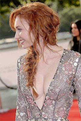 Eleanor Tomlinson at the BAFTA TV awards 2017