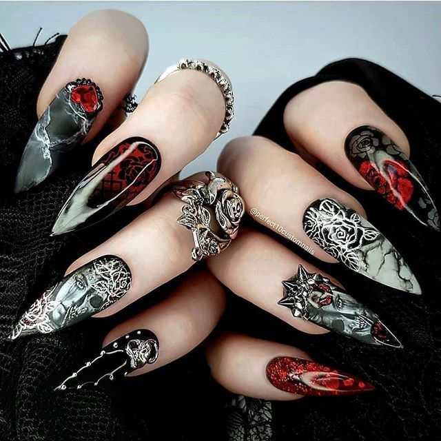 Halloween Nails that Will Impress Everyone Else (With ...
