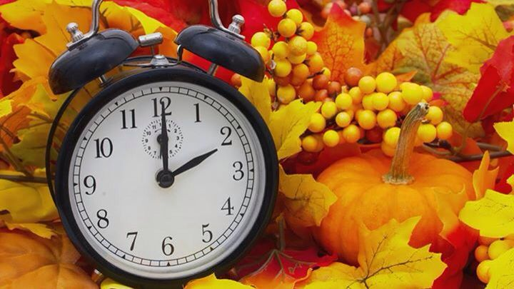 Daylight Savings Time ends tonight! Spring Forward, Fall Back