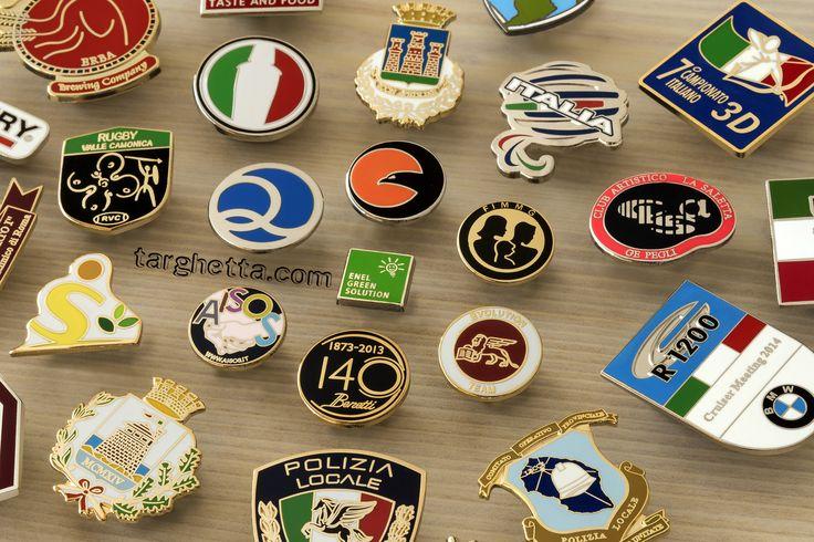 le spille, pins, distintivi e spillette che trovi esclusivamente su http://www.spillepins.it