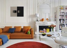 geraumiges moderne wohnzimmer mit coolen und klaren linien kotierung images der cfcbccdafbbbcc bookshelf design modern living room designs