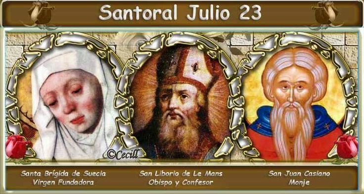 Vidas Santas: Santoral Julio 23
