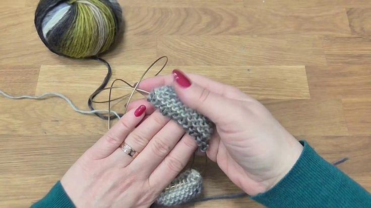 Škola pletení - palčáky pletené zároveň na kruhové jehlici 2. díl