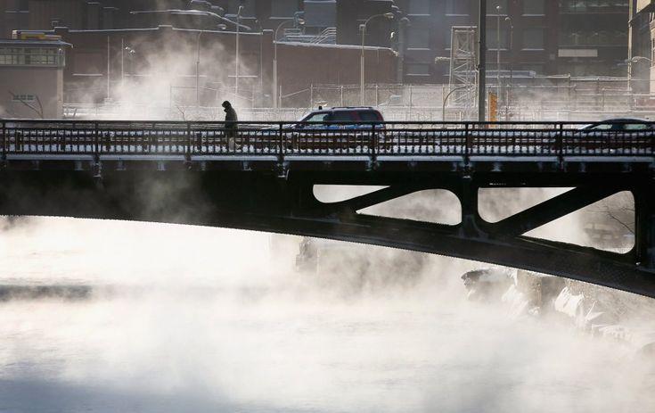 El Servicio Meteorológico Nacional ha pronosticado para hoy 36 centígrados bajo cero en Fargo (Dakota del Norte), 29 bajo cero en Madison (W...