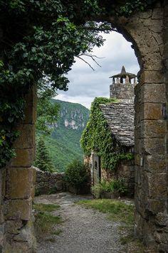 St-Véran Archway, Midi-Pyrenees, France. travel, travel photos, travel destinations