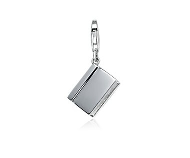 Book Charm in Sterling Silver. by Blue Nile.  $60